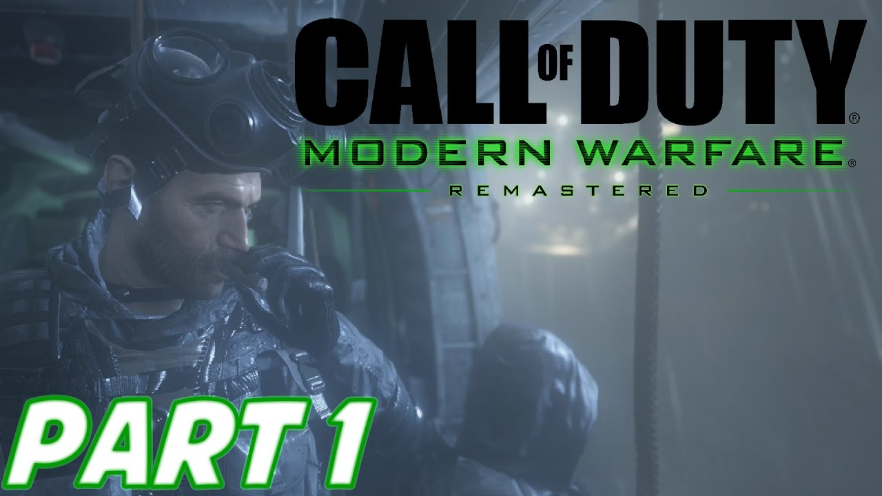 Download Call of Duty: Modern Warfare Remastered Campaign Walkthrough - Part 1 - F.N.G / CREW EXPENDABLE