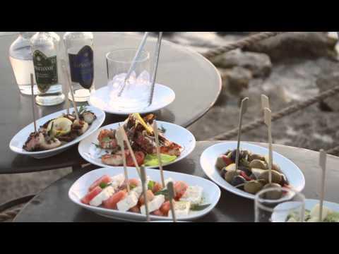 Ouzo at Ouzeri (Almyra Hotel, Cyprus)