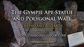 The Gympie Ape Statue and Polygonal Wall - Megalithomania Australia Exploration