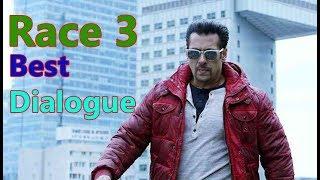 Race 3 Best Dialogue Salman Khan Whatsapp Status Video 2018