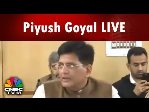 Piyush Goyal LIVE: Cabinet Approves Auction of Coal Mines for Pvt Sector Operators for Comm Mining