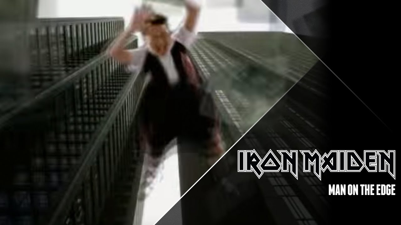 Iron Maiden - Man On The Edge  Official Video