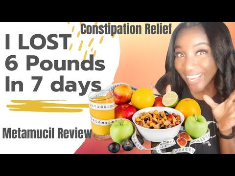 How to loose weight! Constipation Relief Colon Clean Metamucil Review #LooseWeight Rachael Miller