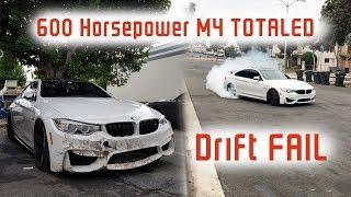 My Friend TOTALED My 600HP BMW M4...