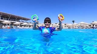 Kids Swimming Pool Challenge Pretend Play with Bogdan