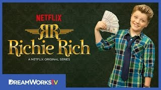 Richie Rich Sneak Peek! New Show Intro | THE DREAMWORKS DOWNLOAD