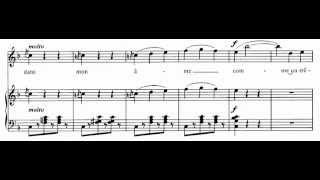 Je veux vivre, (Roméo et Juliette - C. Gounod) Score Animation