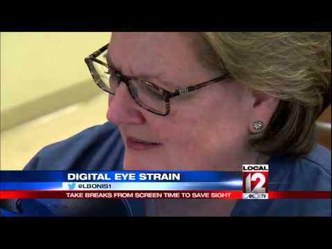 Digital eye strain: Take breaks from screen time to save sight
