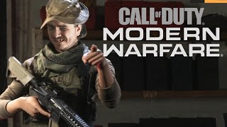 Мэддисон играет в бету Call of Duty: Modern Warfare (2019)