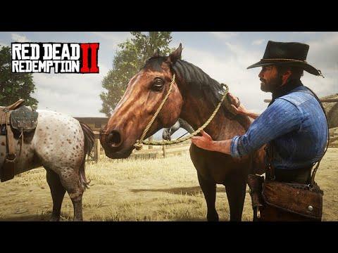 A FAZENDA DO JOHN MARSTON - Vida de Fazendeiro - Red Dead Redemption 2