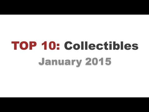 TOP 10: Collectibles of January (2015) by WhatSellsBest.com