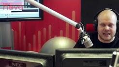 Radio Novan Iltapäivän vieraina Ex Yö -muusikot Jay Lewis ja Daffy Terävä