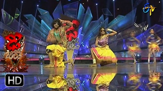 Rahul and Dharsini Performance | Dhee Jodi | 1st February 2017| ETV Telugu