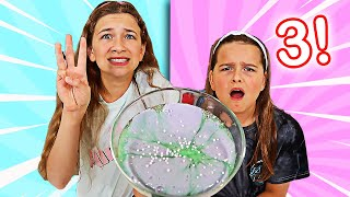 FIX THIS SLIME USING ONLY 3 INGREDIENTS CHALLENGE!   JKrew