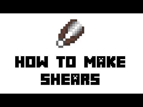 Minecraft Survival: How To Make Shears