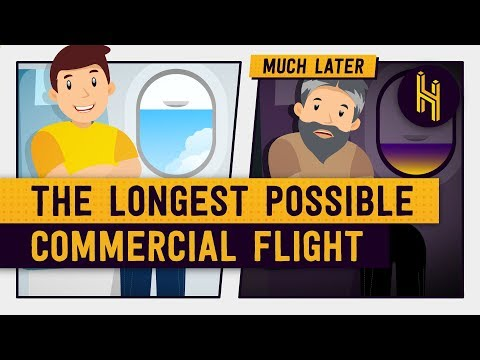 What's the Longest Possible Commercial Flight?