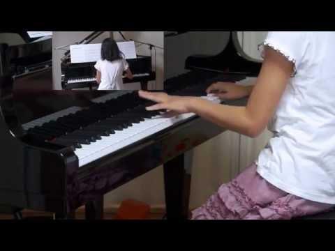 """2014/07/23 録画、 月刊ピアノ2014年8月掲載の楽譜を使うか、ぷりんと楽譜を使うか迷った結果、""""ぷりんと楽譜""""を使いました。"""