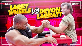 DEVON LARRATT VS LARRY WHEELS!