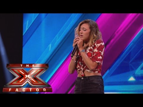 Rebecca Jones sings Andy William's Moon River   Arena Auditions Wk 1   The X Factor UK 2014