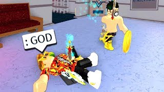 WINNING MURDER MYSTERY with ADMIN COMMANDS!! (Roblox)