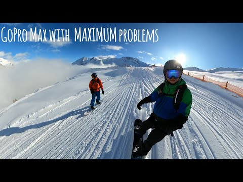 GoPro Max For Skiing & Snowboarding