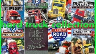 18 wheels of steel collection Hard truck Collection - 9 Games PC HD