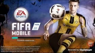 Jogando Fifa Mobile No K10