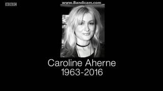BBC News Report - The Death of Caroline Aherne - 2nd July 2016