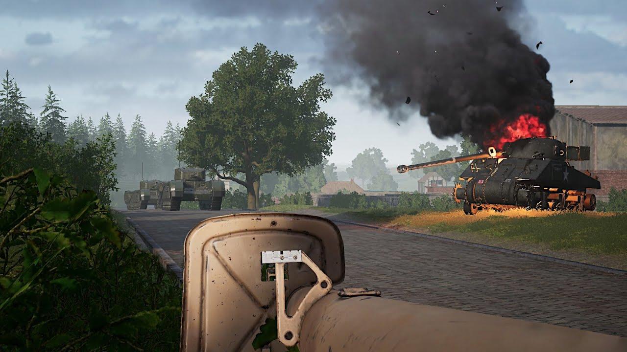 Post Scriptum - Veghel Panzerjagd [GER Comms/ENG Subs]