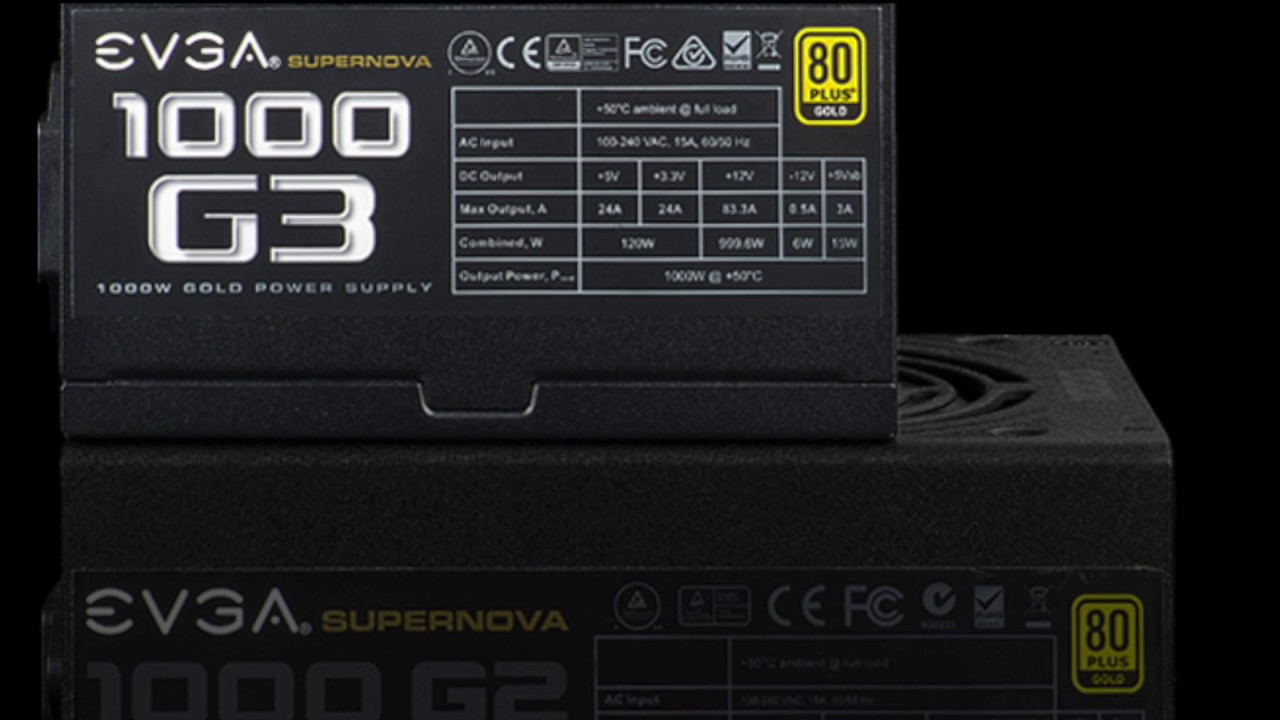 EVGA SuperNOVA 650 G3 80 Plus Gold 650W Fully Modular Power Supply