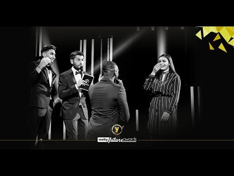 melty Future Awards 2017 : Replay de la cérémonie et du golden carpet