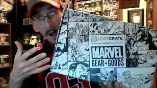 Marvel Gear & Goods Loot Crate Unboxing for November 2016