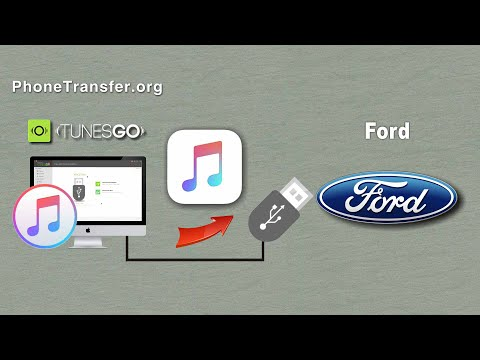 How to Put iTunes Music on your Ford Car, Sync Songs from iTunes to Ford Car