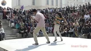 Chura Ke Dil Mera Goriya Chali (Boy And Girl College Dance)👍