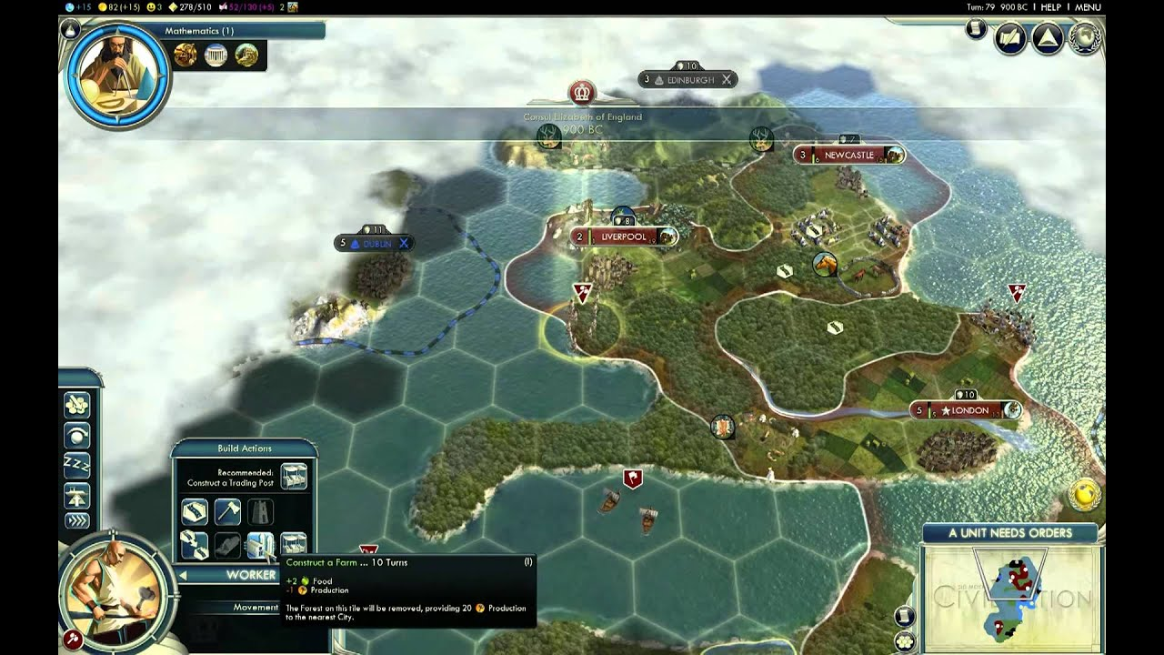 Lets Play Civ 5 England Giant Earth Map Episode 1 Part 3 – Civ 5 World Map