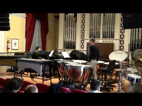 Thärichen - Concerto for Timpani and Orchestra op.34 - Salvatore Lombardo - Conservatorio F.Cilea
