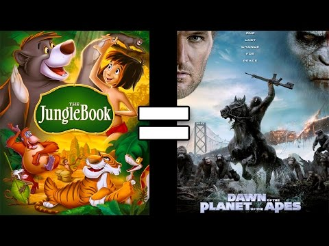 24 Reasons The Jungle Book & Dawn of the Planet of the Apes Are The Same Movie