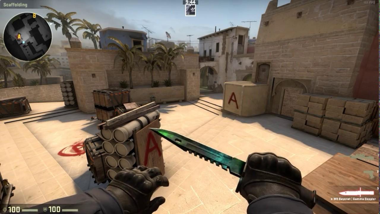 CS:GO - ★ M9 Bayonet | Gamma Doppler Phase 3 (Factory New 0 008 Float Value)