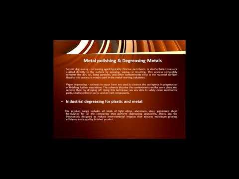 Degreasing Metals