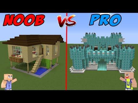 MINECRAFT: NOOB VS PRO - Rumah Sultan VS Rumah Noob thumbnail