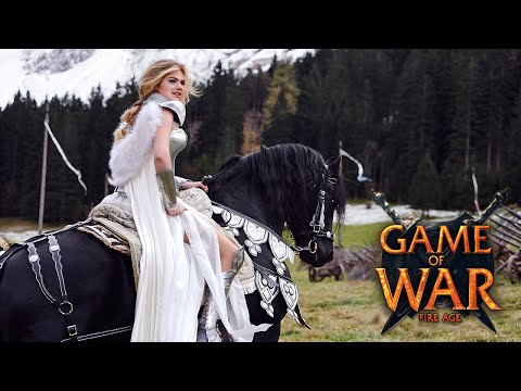 """Game of War Strategy MMO - """"REPUTATION"""" ft. Kate Upton"""