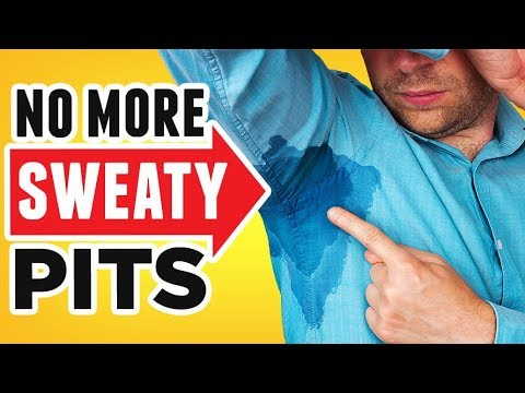 STOP Armpit Sweat (5 Easy Steps) Fix HYPERHIDROSIS & Excessive Perspiration  | RMRS Grooming Videos