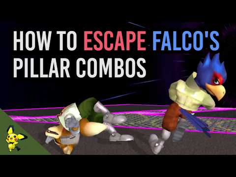 How To ESCAPE Falco's Pillar Combos - Super Smash Bros. Melee