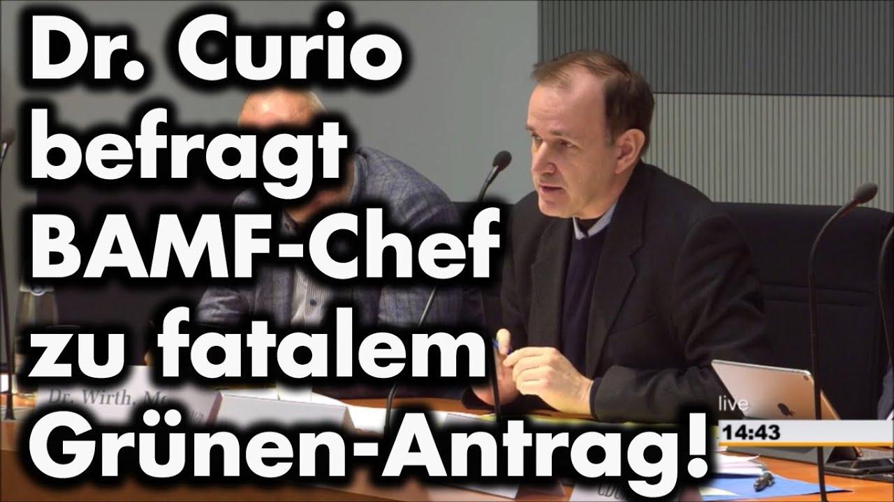 Gottfried Curio befragt Bamf-Chef Sommer zu Grünen-Antrag