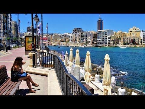 Saint Julian's, Malta (Full HD 1080p)