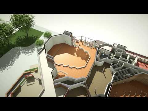 3D Visualisierung Kultur Räume Gütersloh | easyRAUMpro - 3D Zeichenprogramm zur 3D Visualisierung