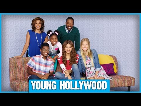 On Set of K.C. UNDERCOVER with Zendaya and Cast Mates!