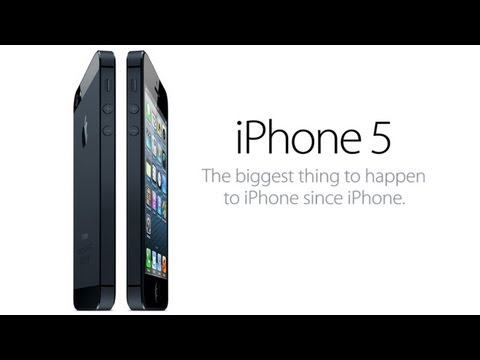 Official iPhone 5 Trailer