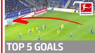 Lewandowski, Nkunku, Paciencia & More - Top 5 Goals from Matchday 10