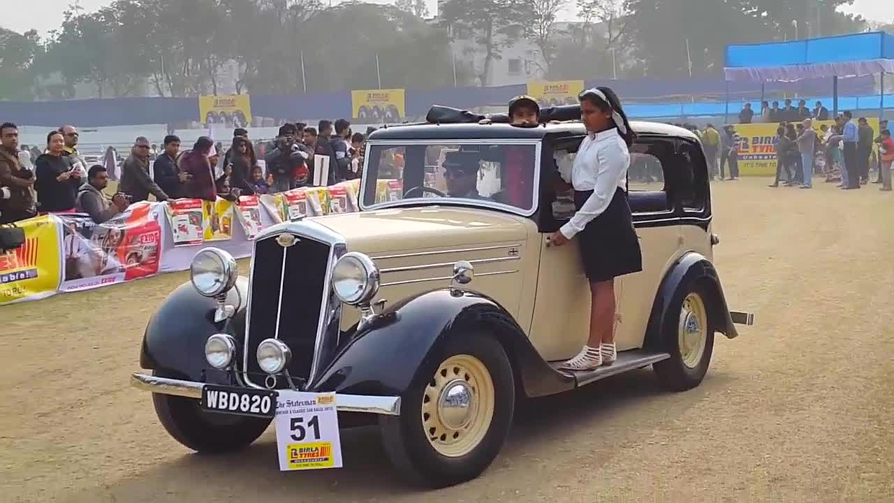 Vintage Car Rally  Kolkata